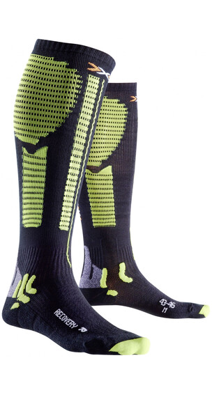 X-Bionic Precuperation Recovery Socks Men Black/Acid Green